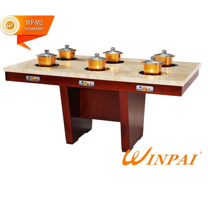 WINPAI high efficiency chinese hot pot with grill for business for hotpot city-3