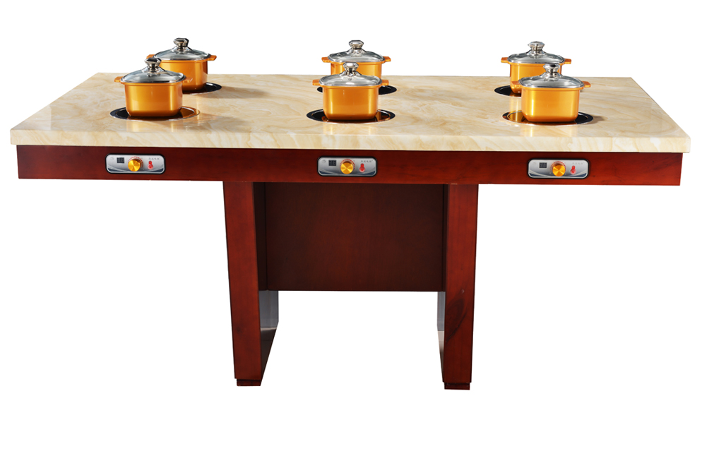 product-WINPAI-Rectangle restaurant hot pot table in Guangdong,WINPAI-img