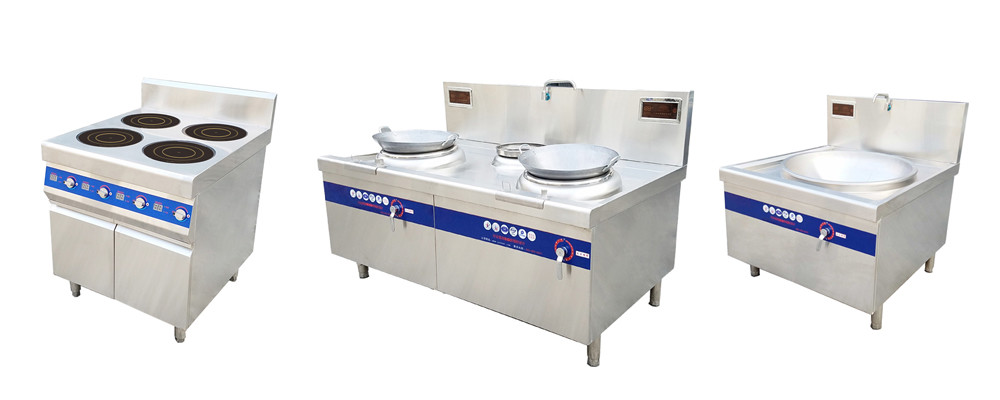 WINPAI smokeless gas stove with induction top supplier for villa