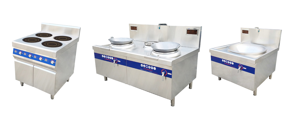 product-Commercial Double-Head Induction Cooker-WINPAI-img