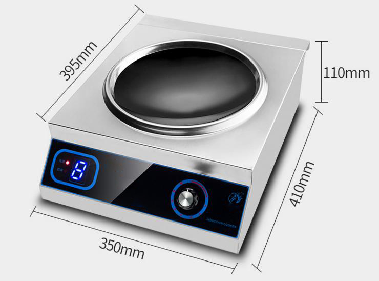 Restaurant/Buffet Built In Wok Induction Cooker, View Wok Induction Cooker-2