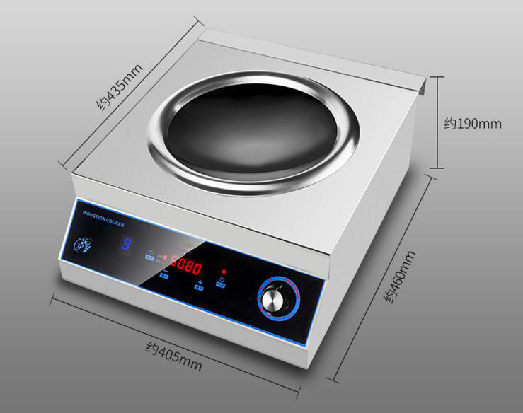 New induction stove features smokeless for indoor