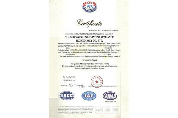 ISO9001 (English)