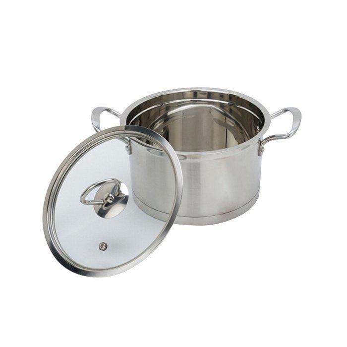 High quality double bottom pot,hot pot stockpot,soup pot-WINPAI