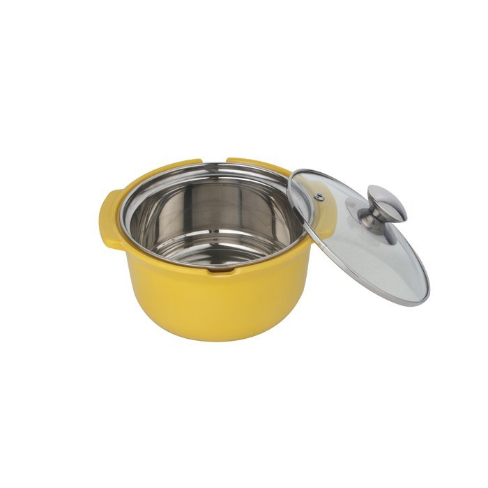 Mini stainless steel  soup pot,stock pot with glass cover-WINPAI