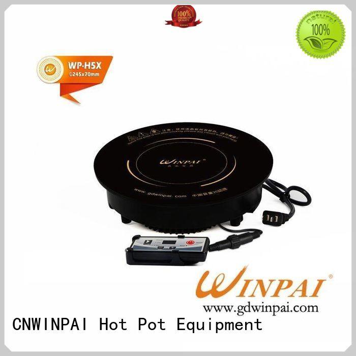 CNWINPAI copper stock pot hotel wok dark