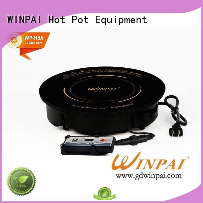 WINPAI restaurant copper stock pot for villa