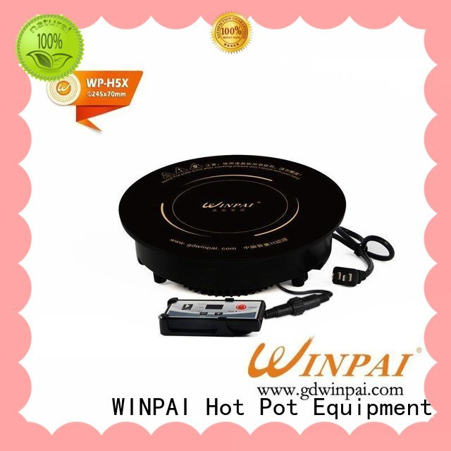 WINPAI safety hot pot accessories series for villa