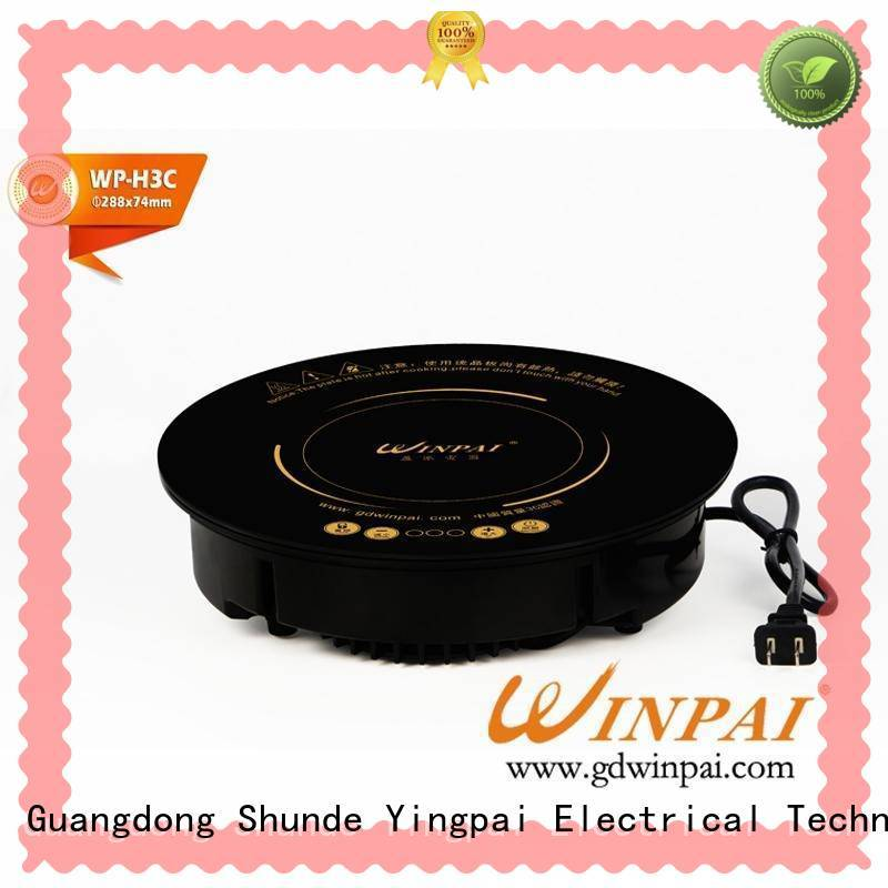 WINPAI round hot pot accessories manufacturer for home