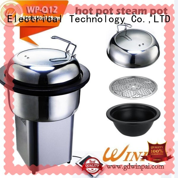 WINPAI frequency plug in vegetable steamer manufacturers for hotel