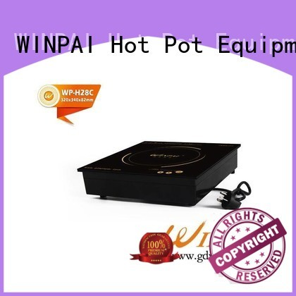 Top induction top price fashionable for restaurant
