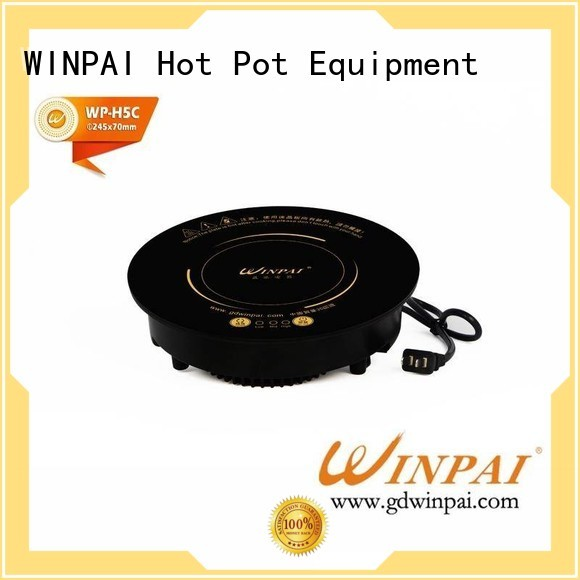 WINPAI electric copper soup pot supplier for indoor