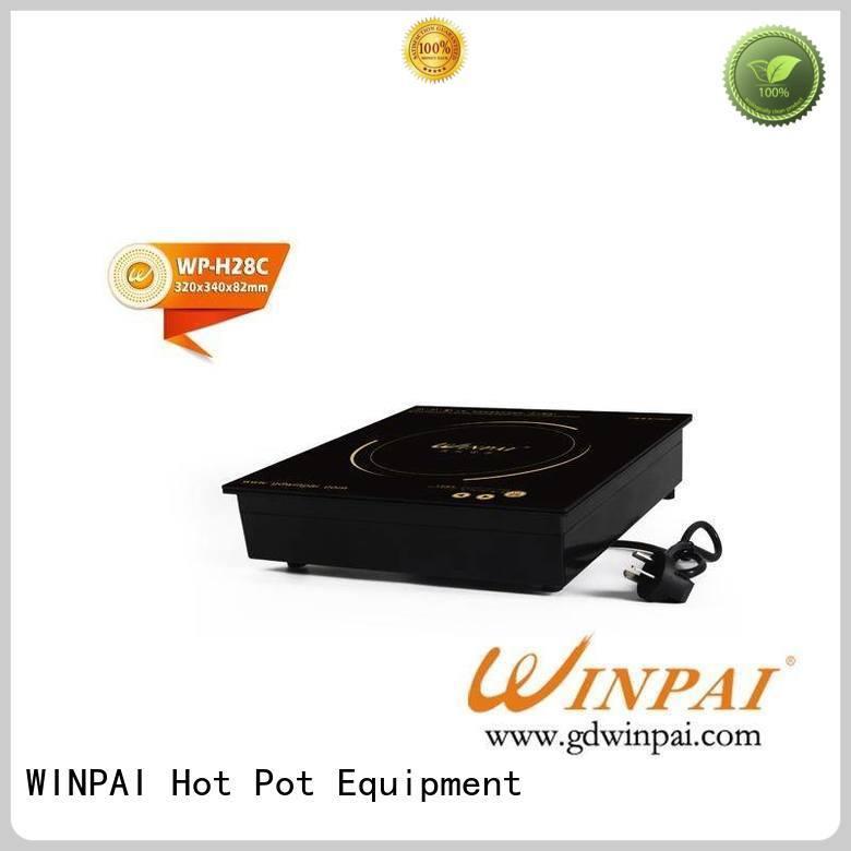 WINPAI wok copper hot pot manufacturer for restaurant