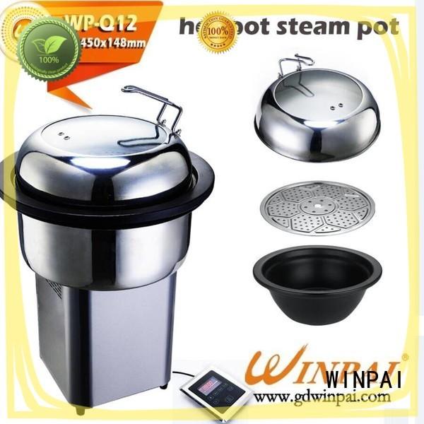 WINPAI safety best vegetable steamer supplier for hotel