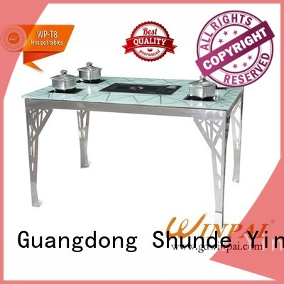 WINPAI High-quality kitset bbq table company for star hotel