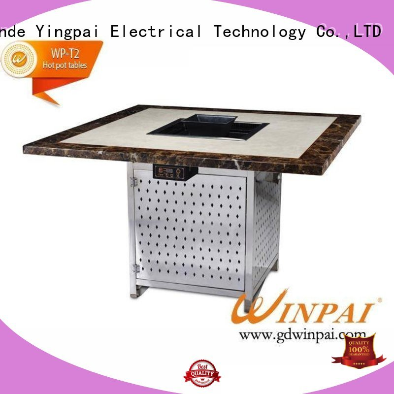 WINPAI small white picnic table factory for star hotel