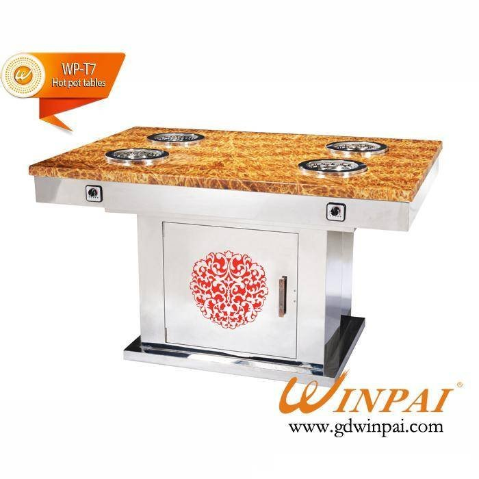 Small Smokeless Hot Pot Table Supplier-WINPAI