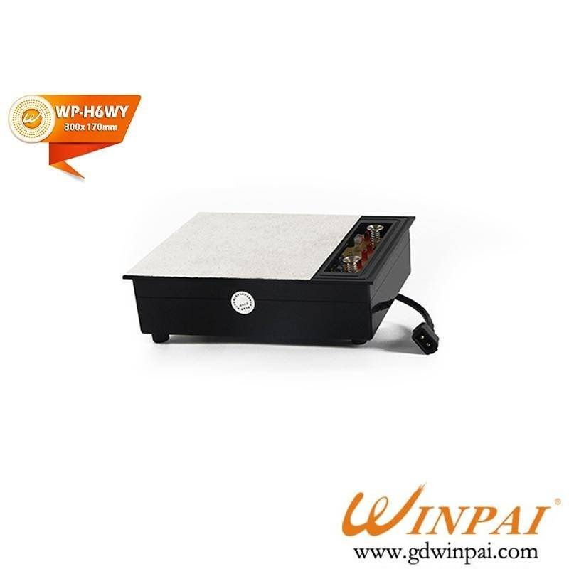 Glass dark hot pot induction cooker