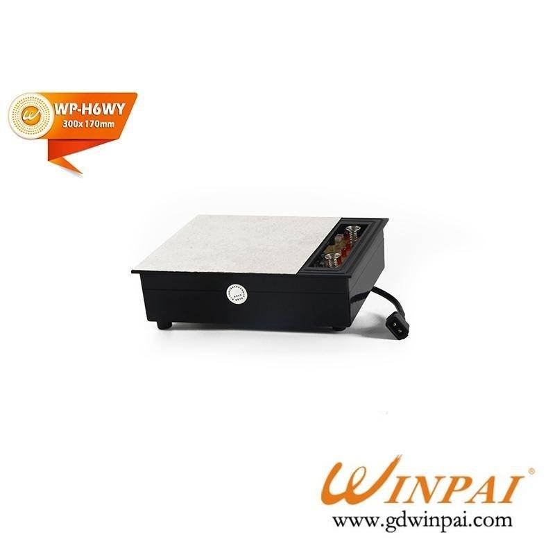 Marble dark hot pot induction cooker