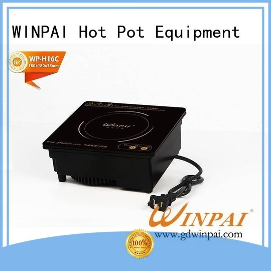 WINPAI round copper stew pot manufacturers for restaurant