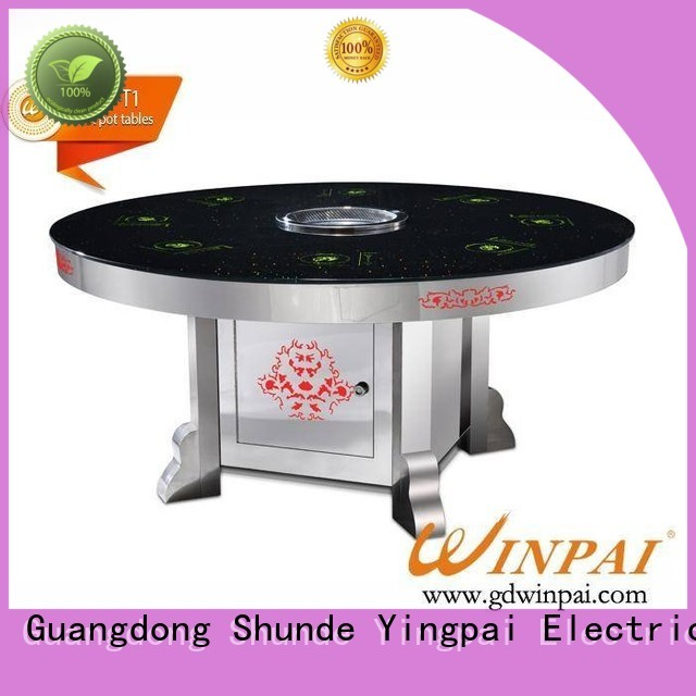 WINPAI safety hot pot stockpot wholesale for hotpot city