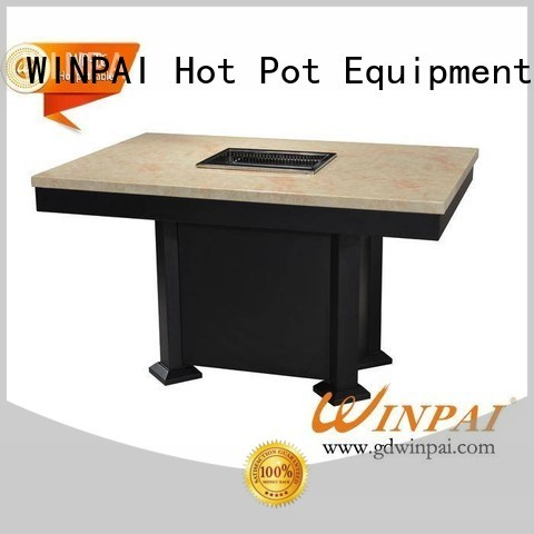 WINPAI Best barbecue picnic table Suppliers for star hotel