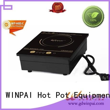 round hot pot cooker freestanding for villa WINPAI