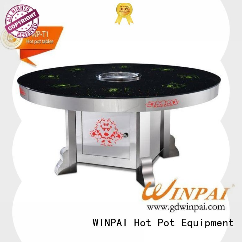WINPAI cooker chinese hot pot with grill company for star hotel