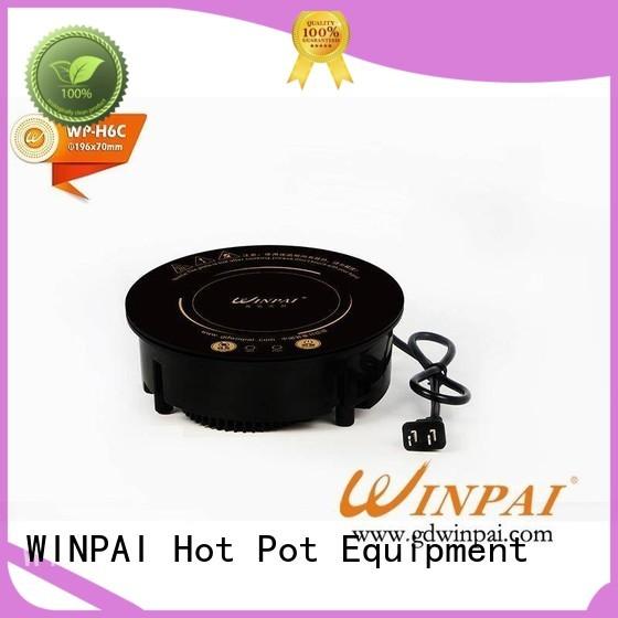 WINPAI highpower copper stew pot for restaurant
