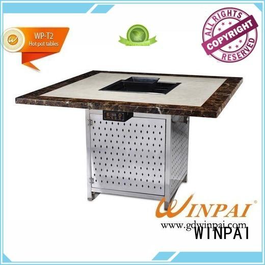 ktv korean bbq grill table metallike chairhotel WINPAI company