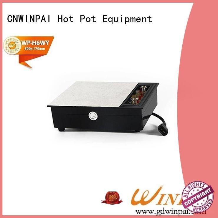 CNWINPAI dark hot pot cookware equipment 5000