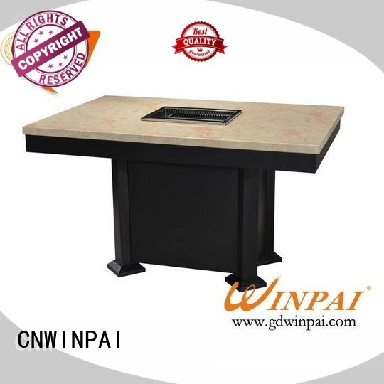 koreanseafoodninestoreytowersteamer hot selling commercial korean bbq grill table cooker CNWINPAI
