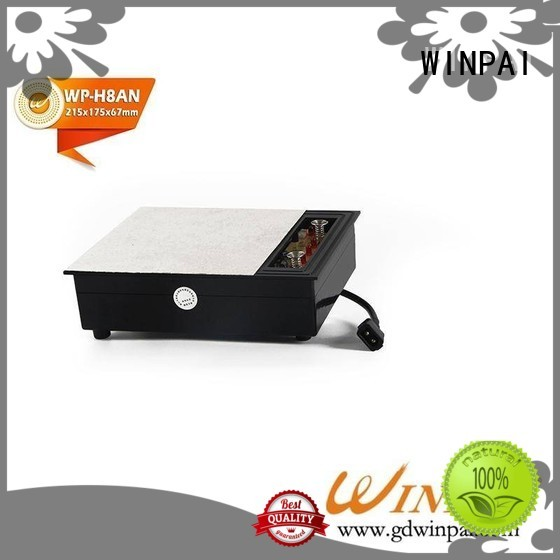 Custom stove with induction top double supplier for restaurant