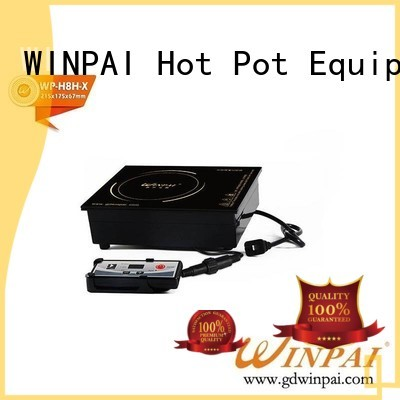 WINPAI Top induction gas cooker for business for restaurant