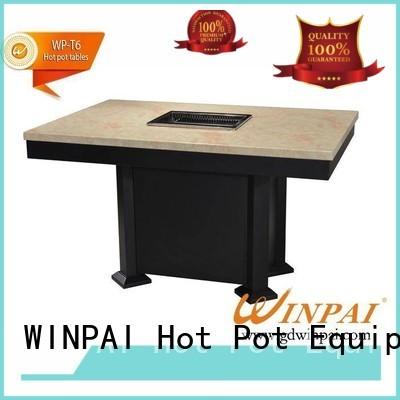 twoflavor seathotel WINPAI Brand korean bbq grill table