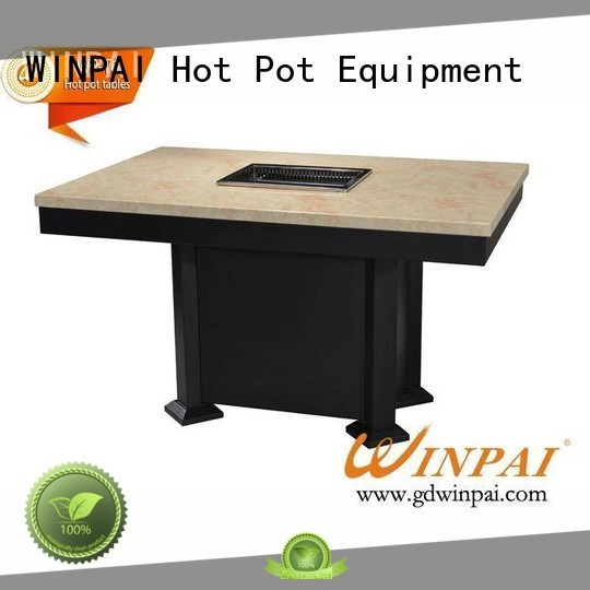 WINPAI tables chinese steamboat cooker manufacturer for cafes