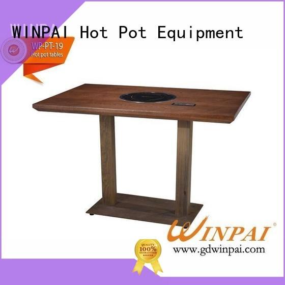 WINPAI power hot pot plate series for cafe