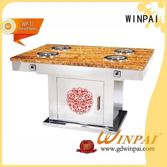 WINPAI grill chinese hot pot sale Supply for restaurant