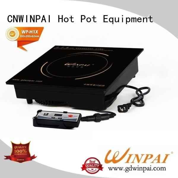 copper stock pot wire smile hot pot cookware rectangle CNWINPAI Brand