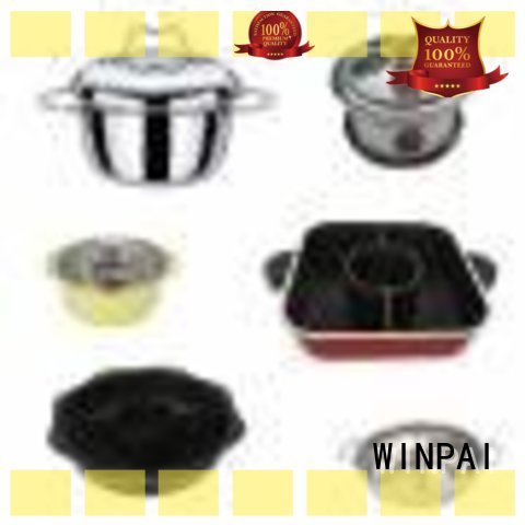 WINPAI safety hot pot tables wholesale for indoor
