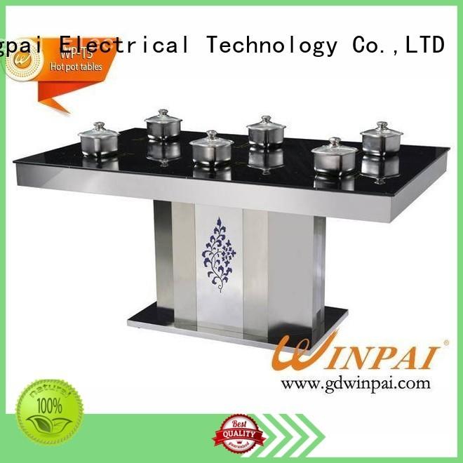 quartz hot pot plate manufacturer for star hotel WINPAI