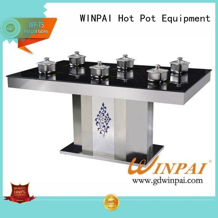 high efficiency hot pot plate smokeless supplier for hotpot city