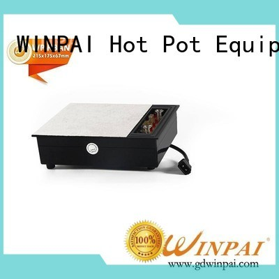 WINPAI excellent induction gas with price supplier for villa