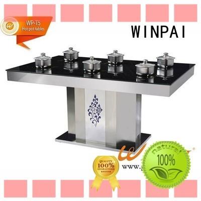 WINPAI Best shabu shabu pot manufacturers for star hotel