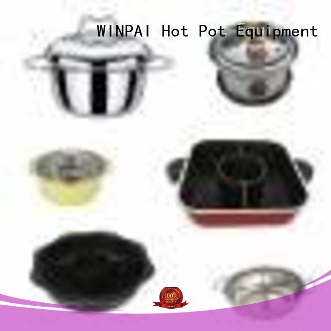 WINPAI Wholesale individual cooking pots for business for restaurant