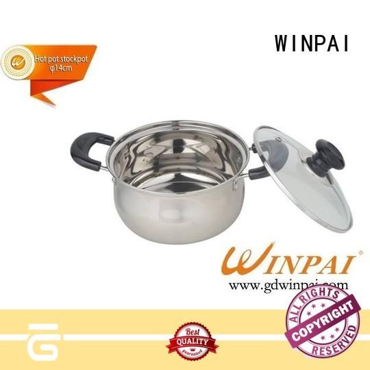 WINPAI Top electric shabu hot pot factory for villa