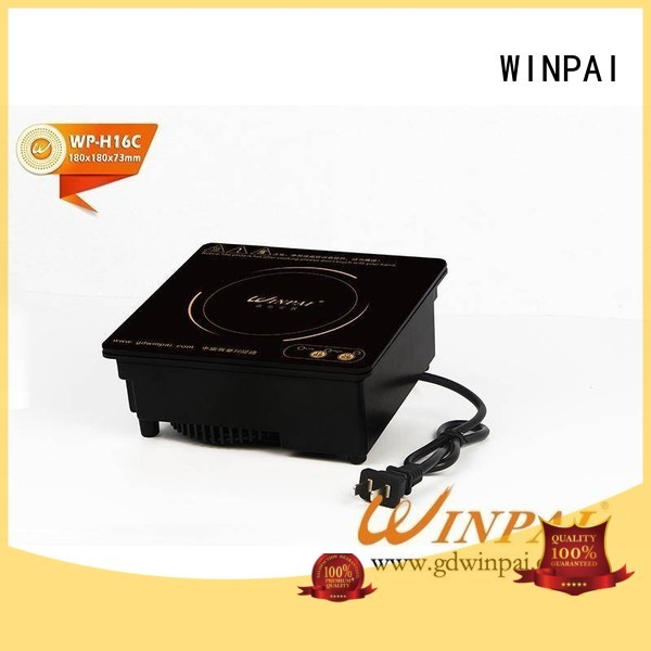 WINPAI stainless induction hot plate cookware Supply for restaurant