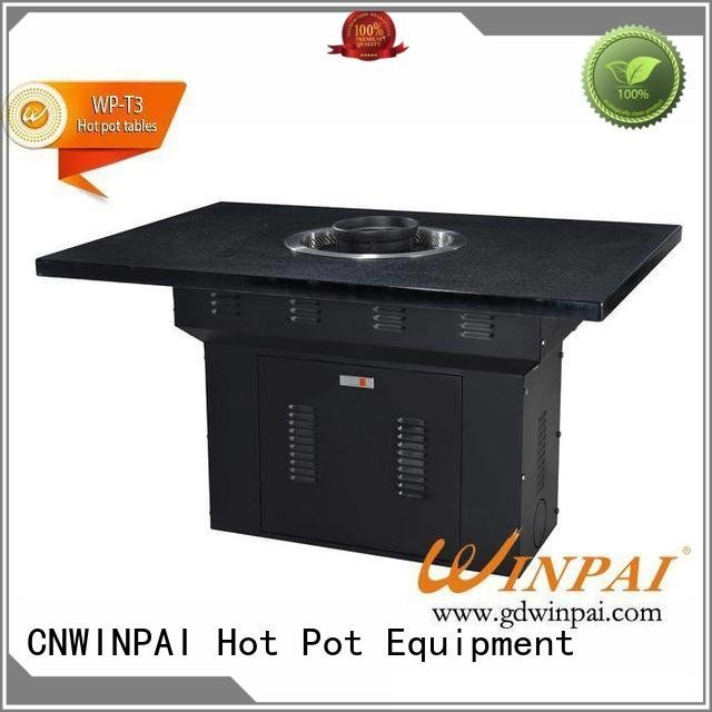 pot restaurant iron CNWINPAI korean bbq grill table