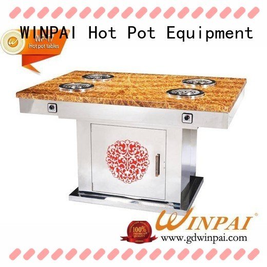 economical authentic hot pot smokeless company for star hotel