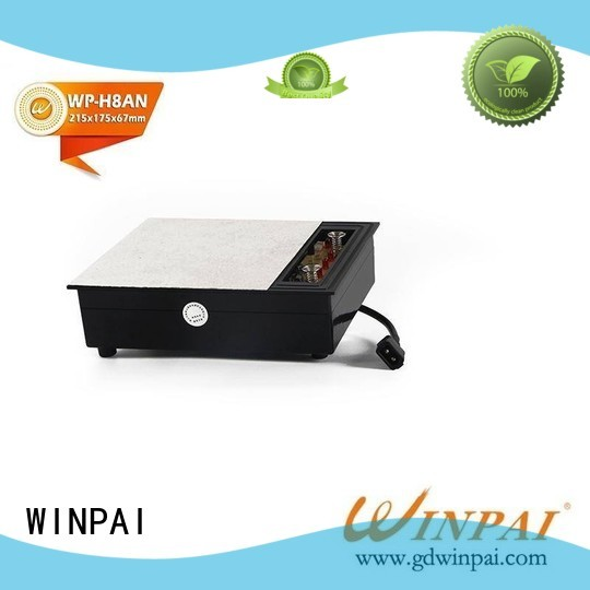 WINPAI smokeless cost of induction hob company for villa